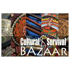 VOLUNTEER AT CULTURAL SURVIVAL BAZAARS